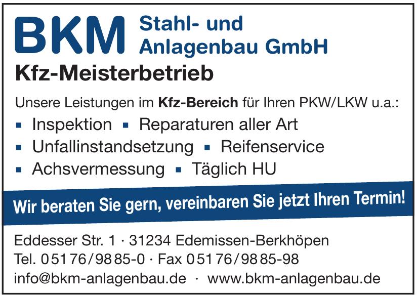 BKM Stahl- und Anlagenbau GmbH