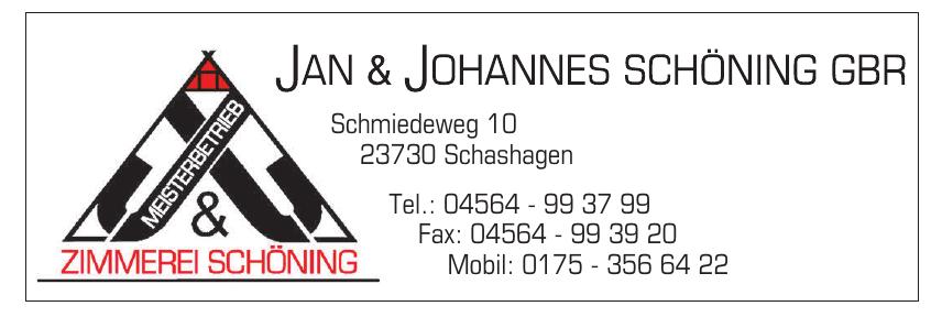 Jan & Johannes Schöning GbR