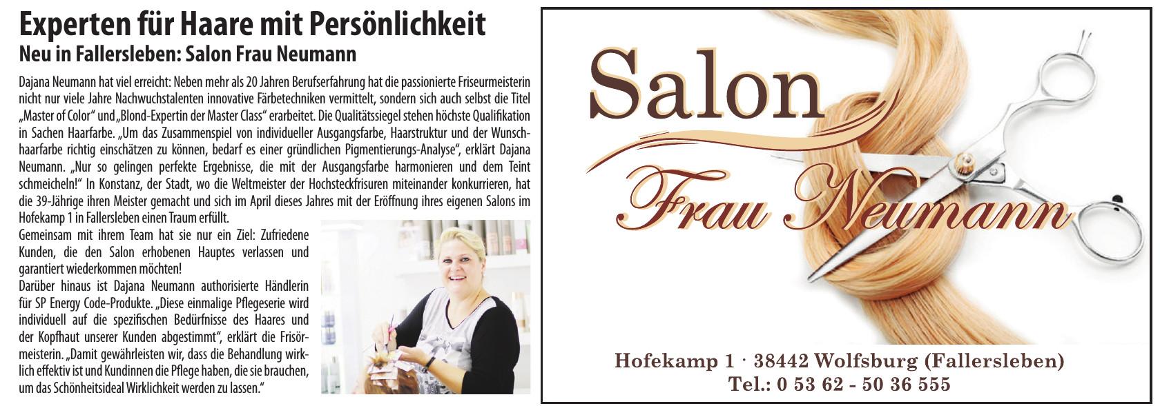 Salon Frau Neumann