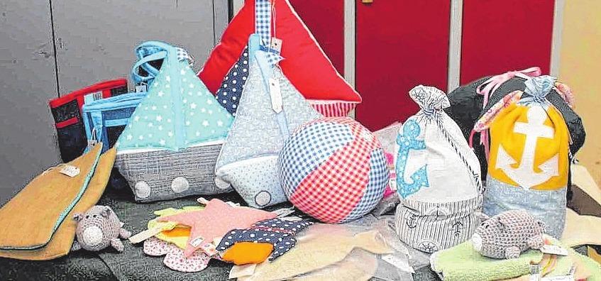 Auf dem Marli-Markt finden Besucher kreative Deko. FOTO: HFR