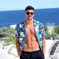 Eine gaaaaanz coole Zeit machte sich Hoffenheims Nadiem Amiri auf der Partyinsel Ibiza.