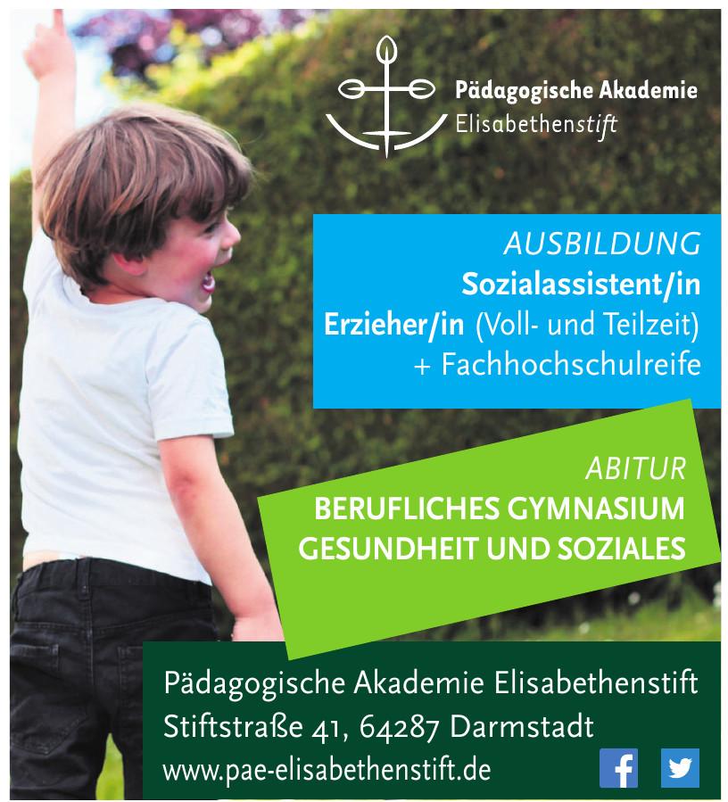 Pädagogische Akademie Elisabethenstift gGmbH