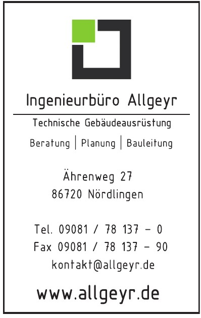 Ingenieurbüro Allgeyr