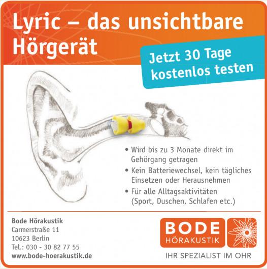 Bode Hörakustik