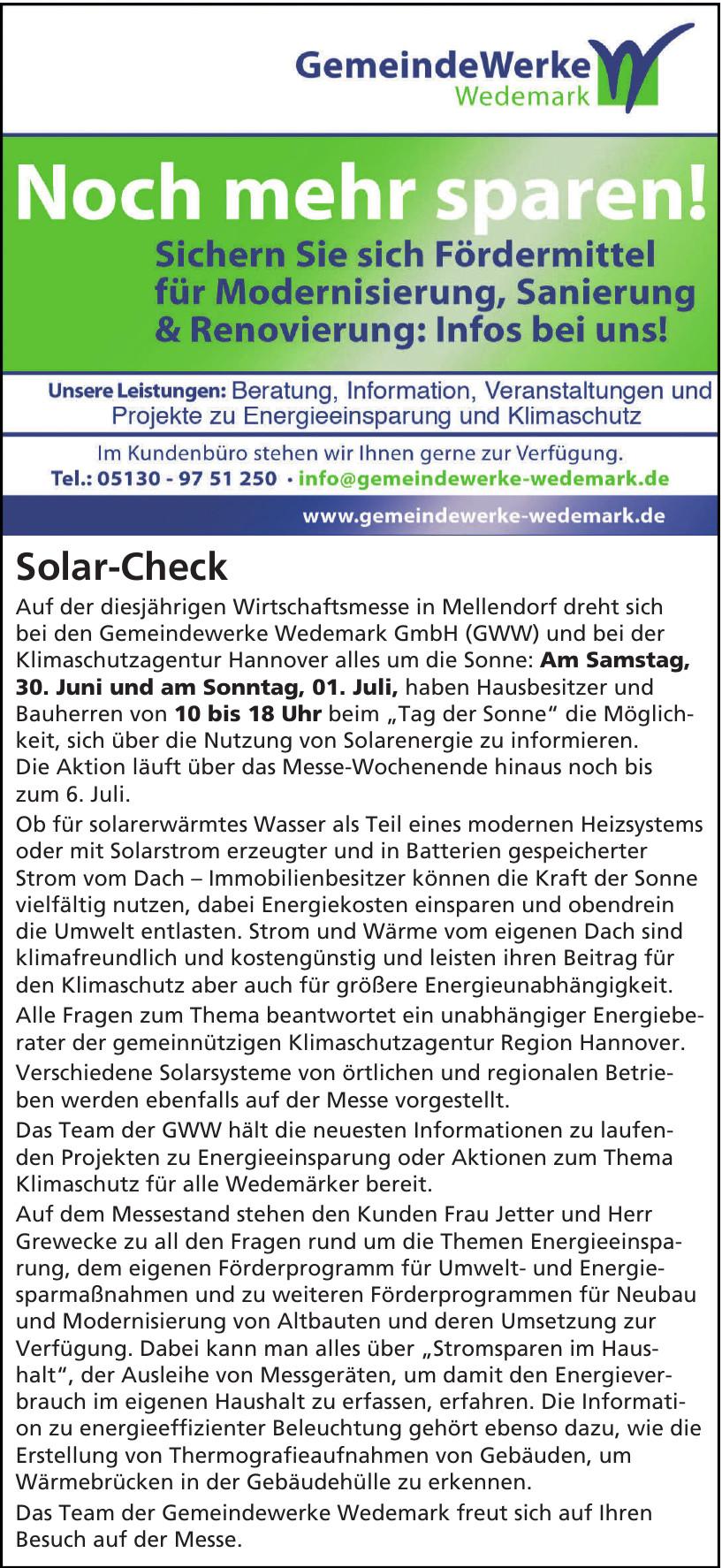 Gemeinde Werke Wedemark