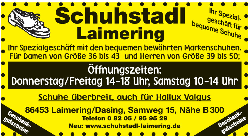 Schuhstadl Laimering