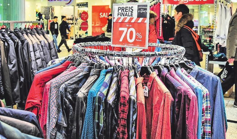 Der Herrenausstatter engbers bietet Preisnachlässe von bis zu 70 Prozent.