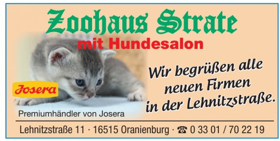 Zoohaus Strate
