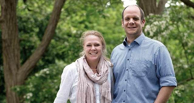 Janine und Hauke Haensch, Geschäftsführer der Personalagentur Auxilium. FOTO: HFR