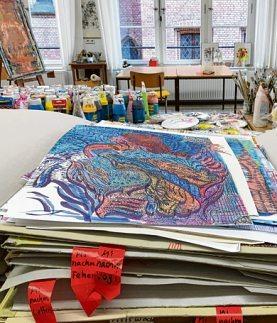 Aus Schmerz wird Kunst–im Offenen Atelier St. Hedwig Image 3