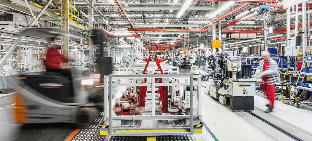 Imperial delivers components to the assembly lines of the automotive industry.