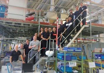 Abb. 3: Ein starkes Team für ein erfolgreiches Projekt: Die Experten von Bosch Packaging Technology und die Kollegen von OP Nano.