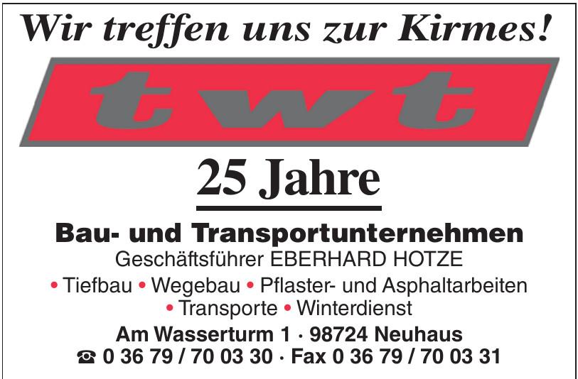 twt Bau- und Transportunternehmen