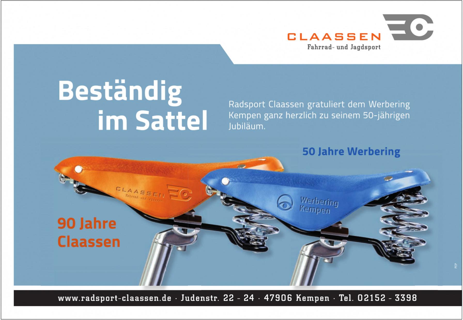 Radsport Claassen