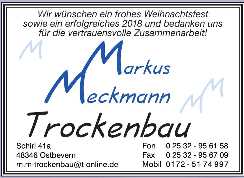 Marcus Meckmann - Trockenbau