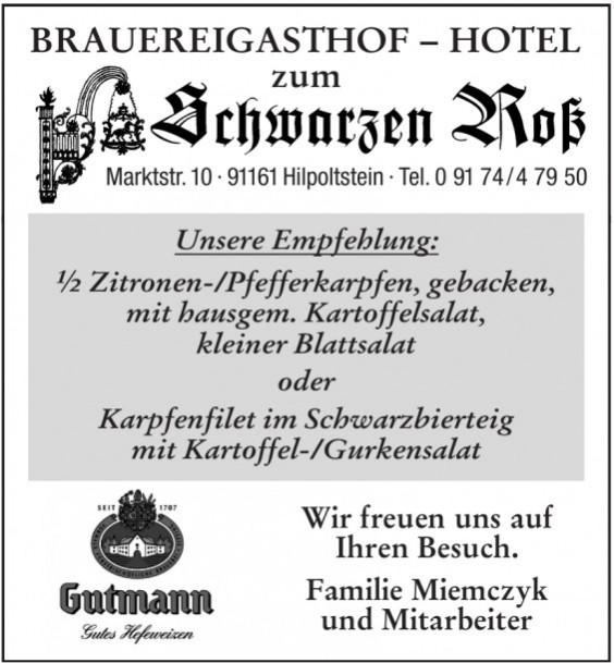Brauereigasthof & Hotel Schwarzen-Roß