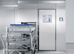 Abb. 1: Die Belimed-Sterilisatoren der Baureihen BST, LST und PST sind mit sorgfältig ausgewählten, hochwertigen Werkstoffen gefertigt, cGMPkonform konstruiert und produziert. Sie garantieren zuverlässige und reproduzierbare Prozesse.