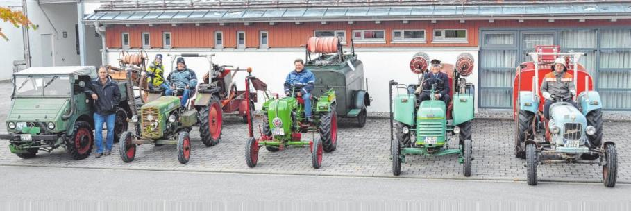 Stolze Besitzer von alten Landmaschinen und Traktoren werden am Sonntag ihre Fahrzeuge zur Schau stellen. FOTO: VERANSTALTER