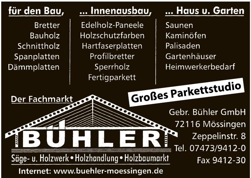Gebr. Bühler GmbH