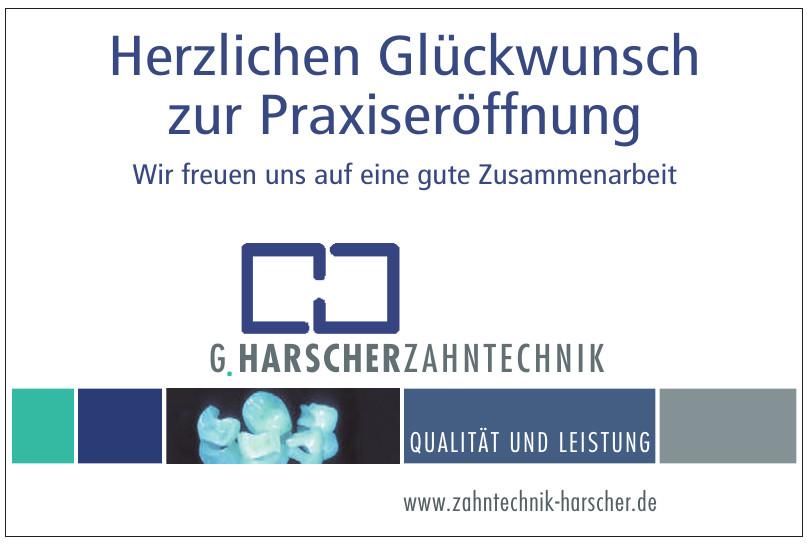 G. Harscher Zahntechnik