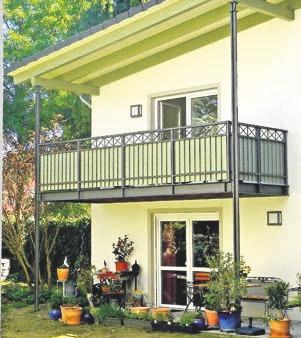 Wer einen neuen Balkon bauen oder einen alten sanieren möchte, ist bei Jens Leonhard an der richtigen Stelle. Der Metallbaumeister entwickelt in enger Abstimmung mit jedem einzelnen Kunden passgenaue Lösungen, die sich gut in die Umgebung einfügen.