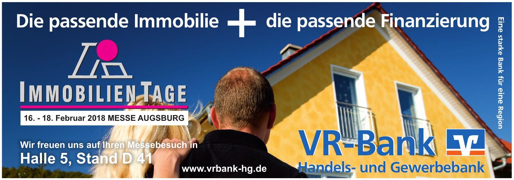 VR-Bank Handels- und Gewerbebank
