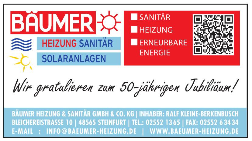 Bäumer Heizung & Sanitär GmbH & Co. KG
