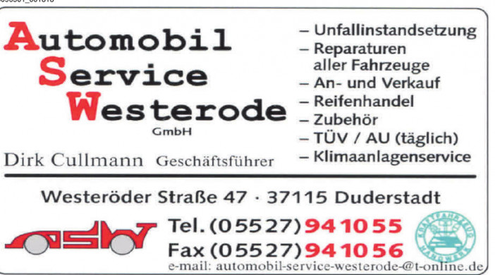 Automobil Service Westerode GmbH
