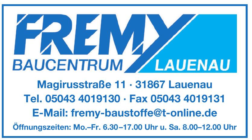 Fremy Baucentrum Lauenau