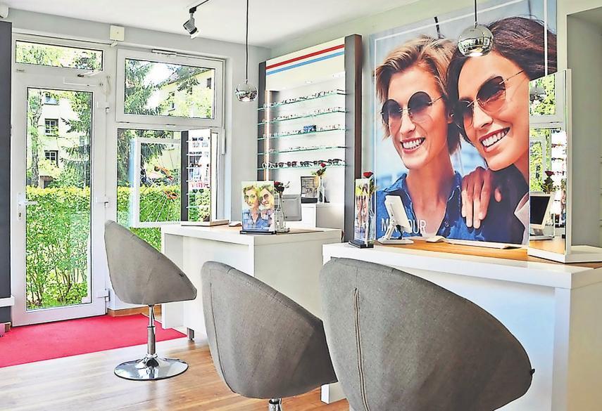 Die Filiale in Wiederitzsch wurde mit einem frischen Look versehen und erstrahlt nun in neuem Glanz.   Foto: Augenoptik Findeisen