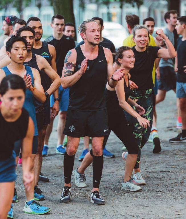Sport, Event, Spaß: Für die Kraft Runners gehört alles zusammen