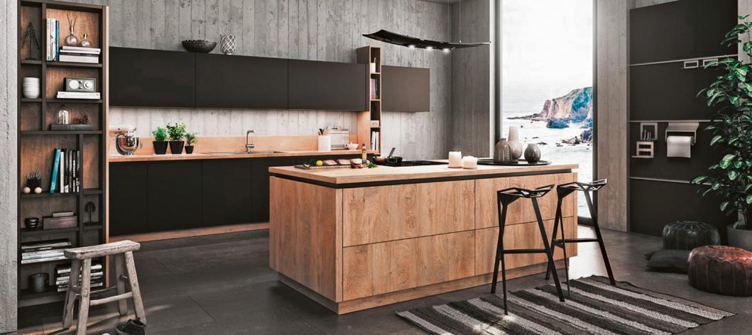 Hier fühlt man sich wohl: Modernes Landhaus-Design prägt viele der Bauformat-Küchena