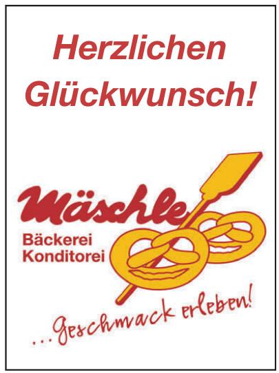Mäschle Bäckerei - Konditorei