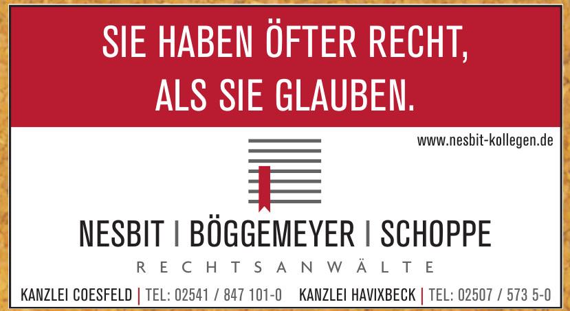 Nesbit - Böggemeyer - Schoppe Rechtsanwälte