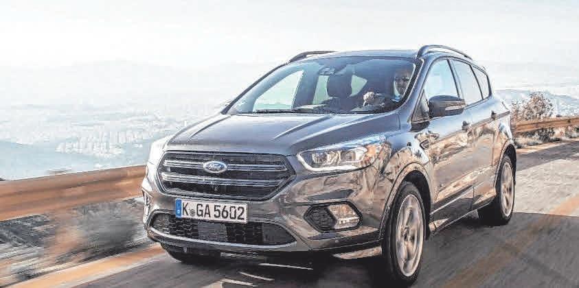 Der neue Ford Kuga: dynamisches Styling, moderne Fahrerassistenzsysteme und effiziente Motoren. FOTO: FORD