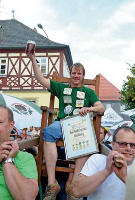 Bierkönig Peter I. wird beim offiziellen Bieranstich aller zehn Brauereien dabei sein.