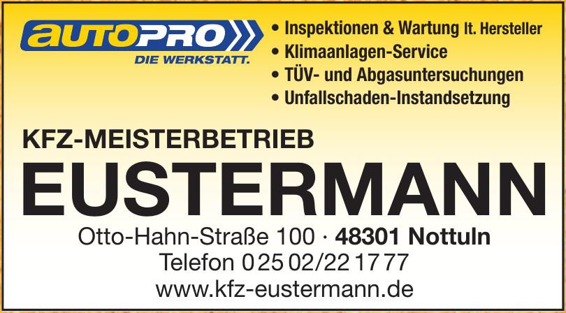Kfz-Meisterbetrieb Eustermann
