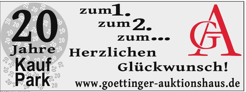 GA Göttinger Auktionshaus