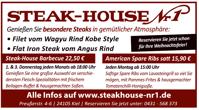 Steak-House Nr. 1