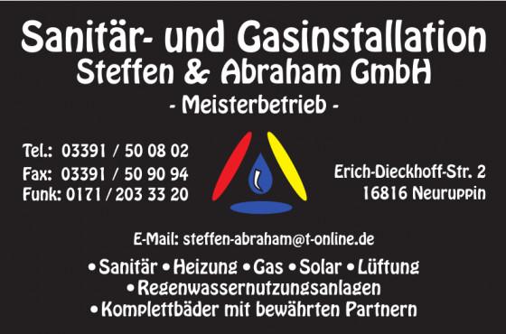 Sanitär- und Gasinstallation Steffen & Abraham GmbH