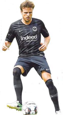 Soll für mehr Torgefahr sorgen: Angreifer Nicolai Müller kam aus Hamburg zur Eintracht.