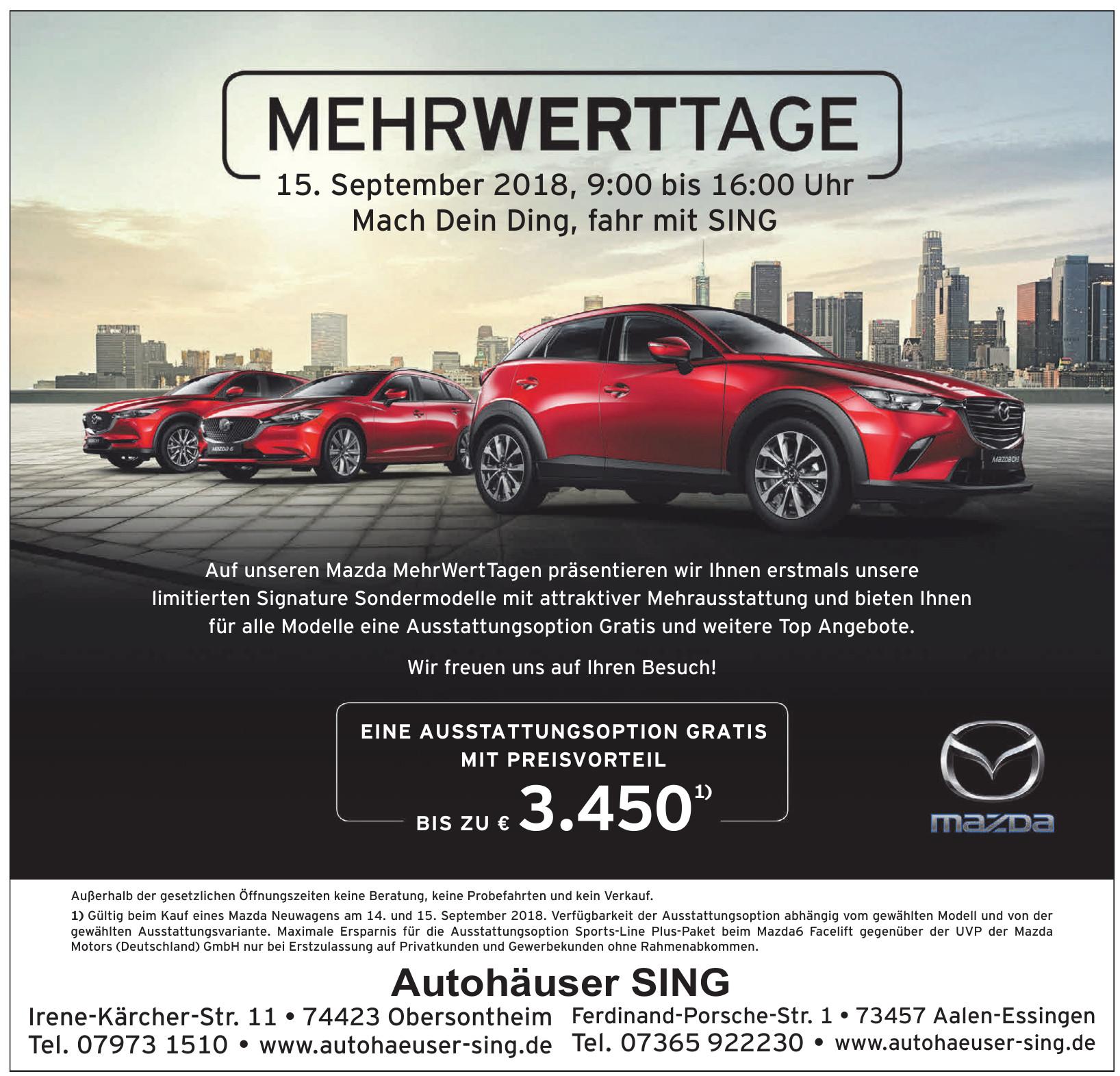 Autohaus Sing oHG
