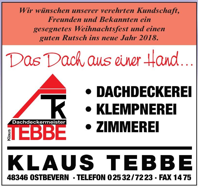 Klaus Tebbe