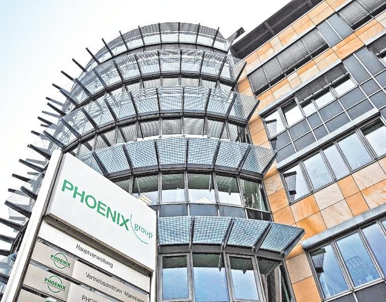 Der Hauptsitz der PHOENIX group in Mannheim. BILD: PHOENIX GROUP