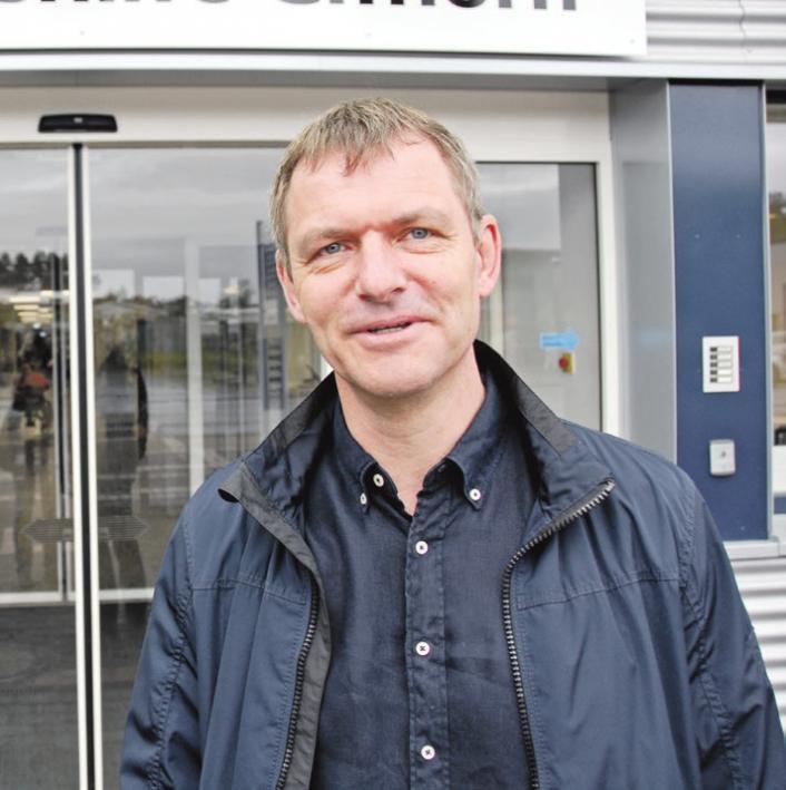 Steffen Krüger arbeitet gerne bei der Lebenshilfe.