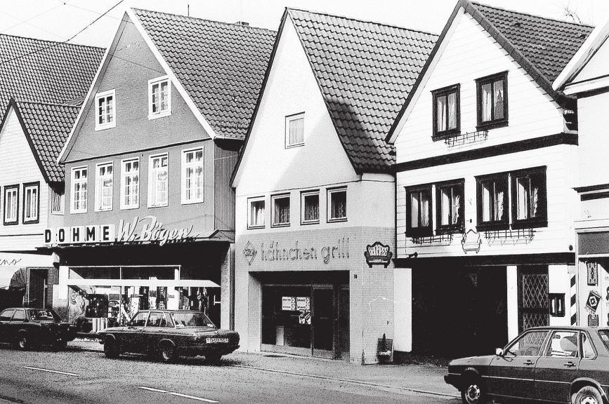 Früher beherbergte das Gebäude einen Hähnchen-Grill.