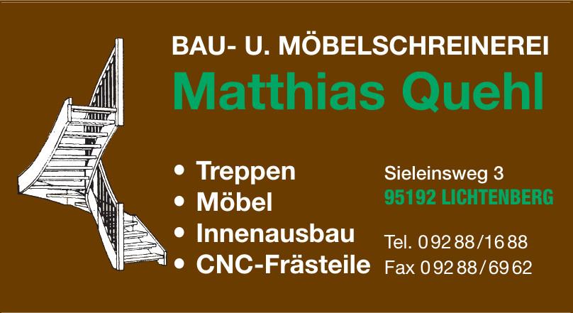 Bau- u. Möbelschreinerei Matthias Quehl