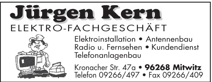 Jürgen Kern Elektro-Fachgeschäft