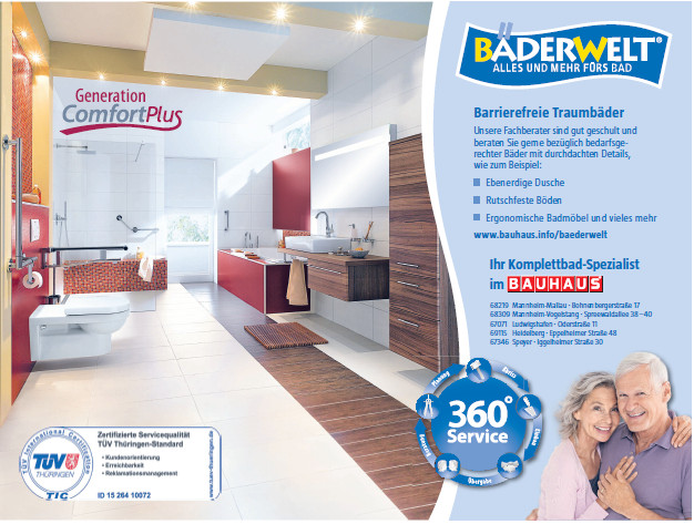 BAUHAUS GmbH & Co. KG Rhein-Main-Neckar