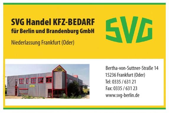 SVG Handel KFZ-BEDARF für Berlin und Brandenburg GmbH